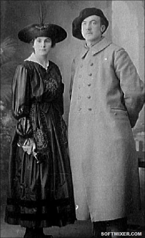 свадебное фото Гала и Элюара