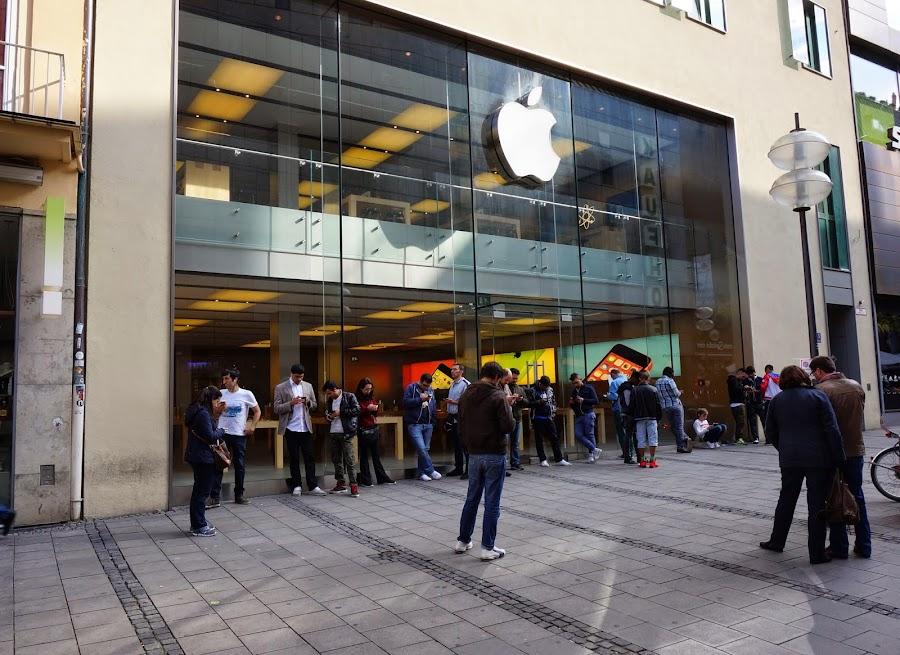 Салон Apple в Мюнхене