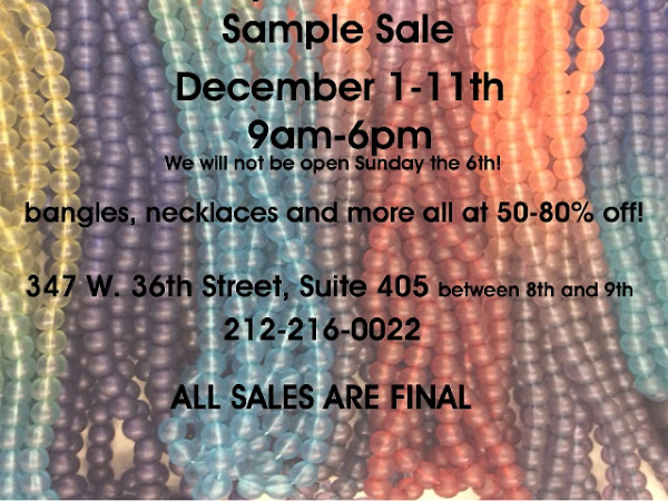 What's Up New York: Sample Sales!