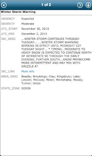 Storm Tracker Professional - screenshot