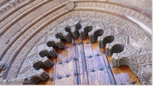 Portada de San Román de Cirauqui - Tierra Estella