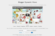 Blogger Dynamic Views