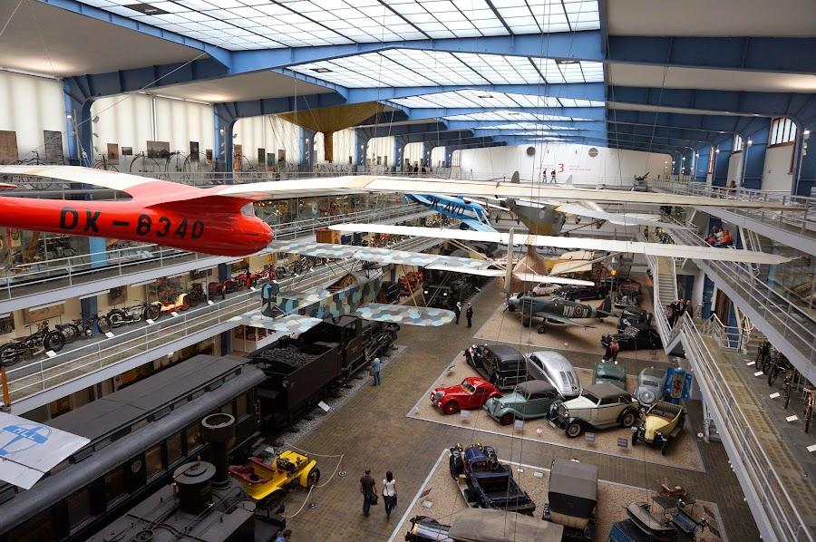 В техническом музее Праги