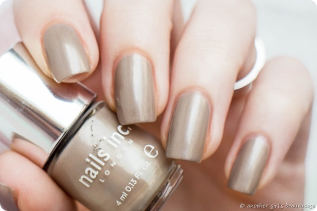 LFB Taupe Greige Nails Inc London Chester Street Swatch Pearl_-2