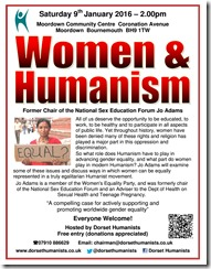 Women & Humanism 09 January 2016