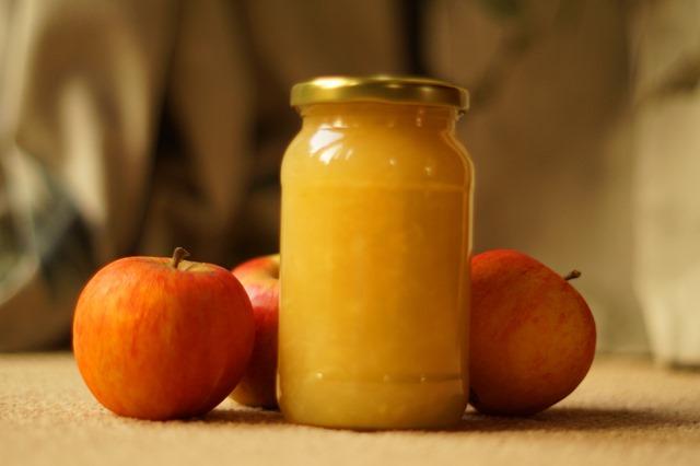 ginger apple jam