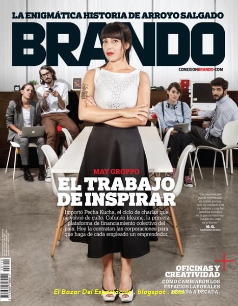 Pecha kucha en revista brando mayo 2015 tapa y destacados for Revistas del espectaculo