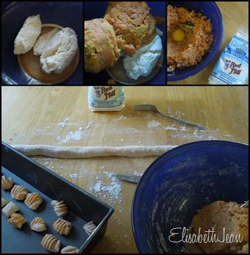 E.J. sweet potato gnocchi