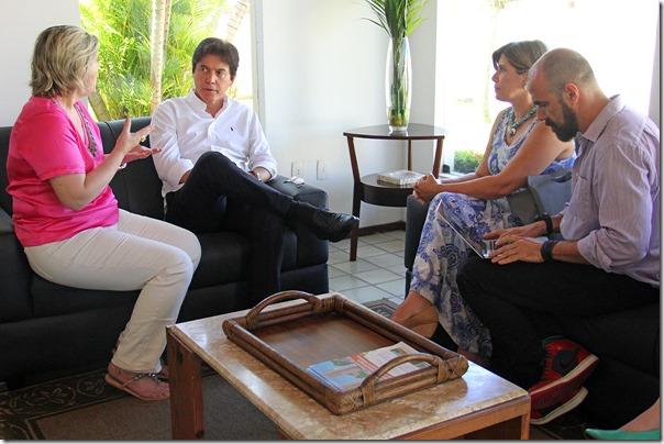 04.09 Reunião com representantes do Instituto Câmara Cascudo - Foto Rayane Mainara