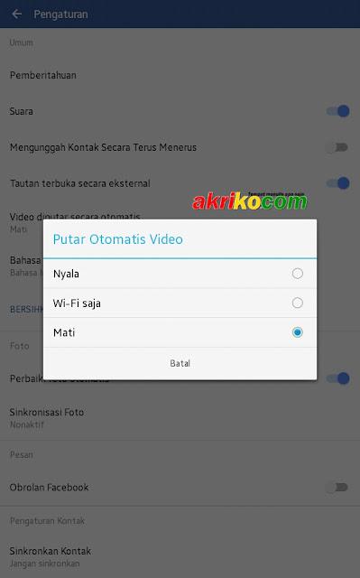 Cara Menonaktifkan AutoPlay Video pada Facebook