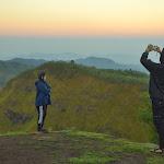 nasz pierwszy nocleg w Talung - punkcie na szczycie góry