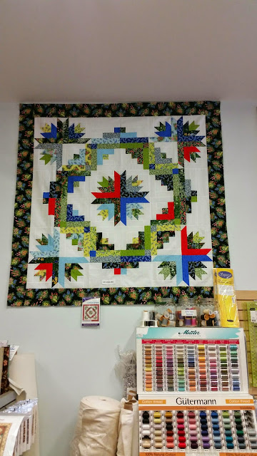 B and B Quilting - Log Cabin Quilt