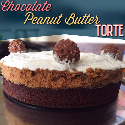 EmilyCanBake: Chocolate Peanut Butter Torte