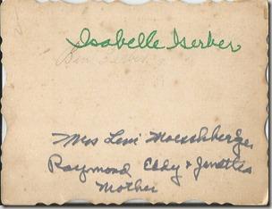 Isabelle  Craigs back Number 1899 (2)