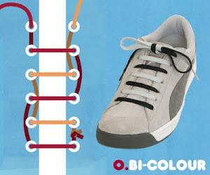 Memasang Tali Sepatu dengan Trik Bi Colour