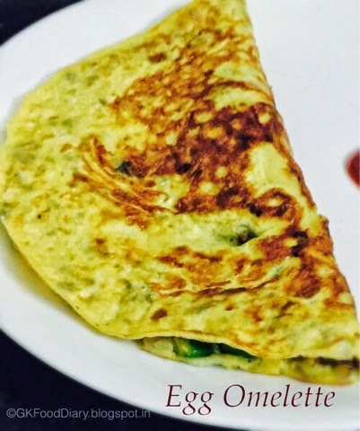 Egg Masala Omelette Recipe