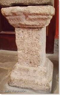 Iglesia de San Román de Cirauqui - Ara romana