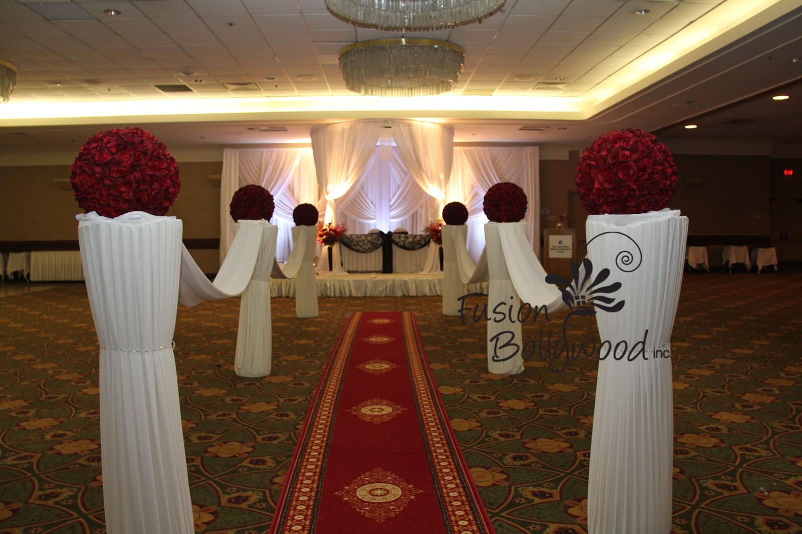 fan wedding programs template