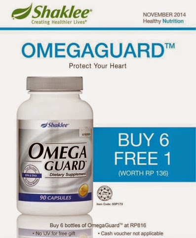 promosi omega guard shaklee