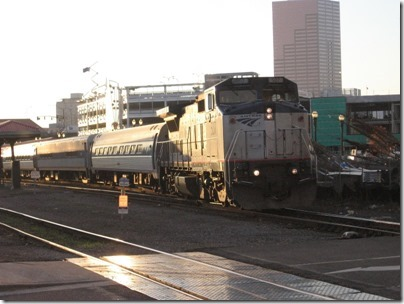 IMG_4469 Amtrak B32-8WH #507 at Union Station in Portland, Oregon on November 27, 2008
