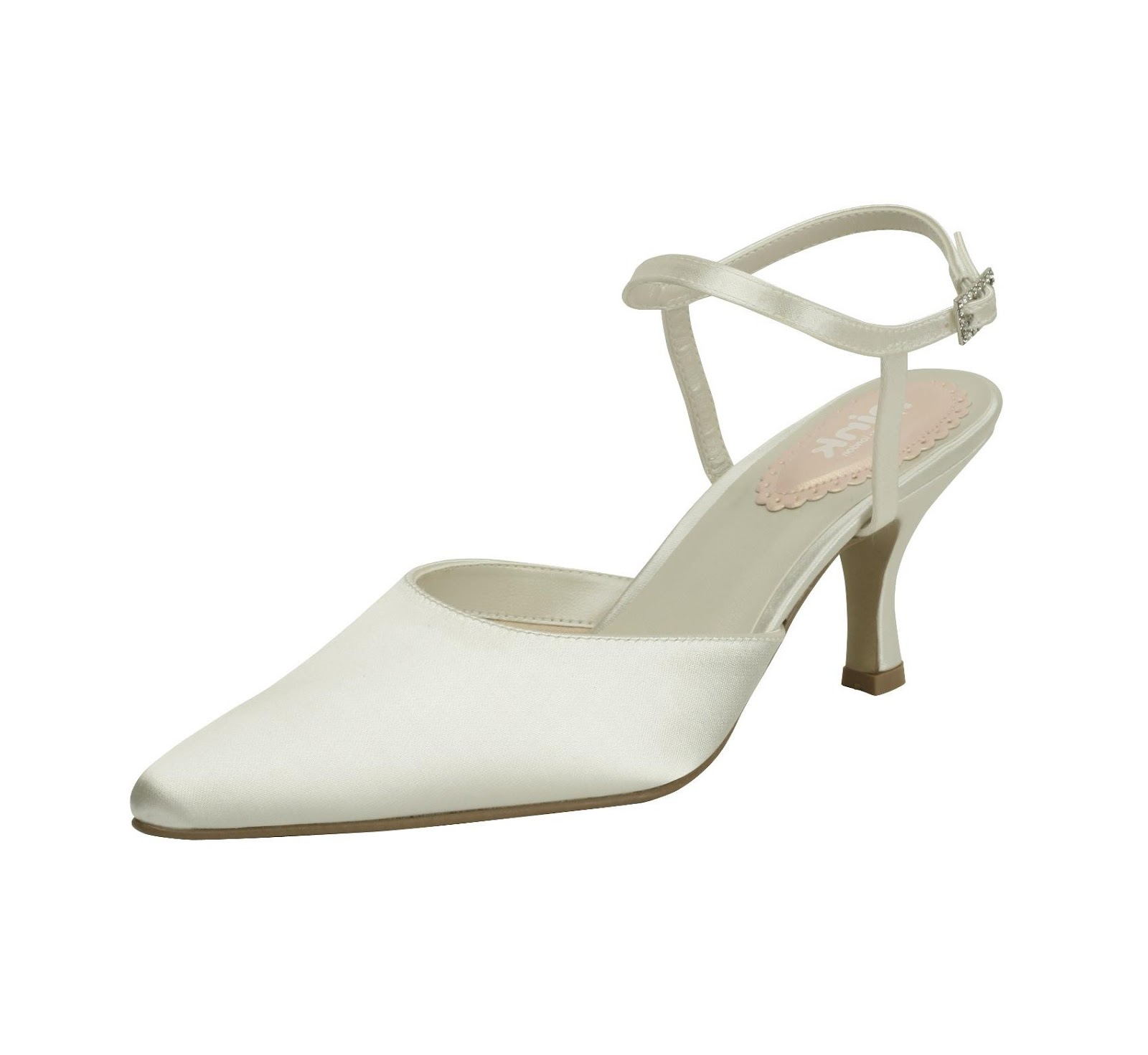 Ballet Ivory Wedding Shoes