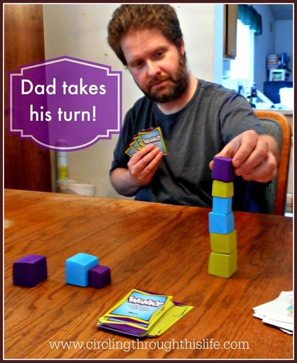 Dad takes his turn! Wonky  from USAopoly
