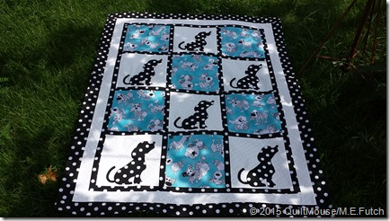 Perfect Pets Polka Dot Puppies Quilt Pattern