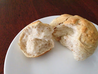 Fluffy Whole Wheat Roll