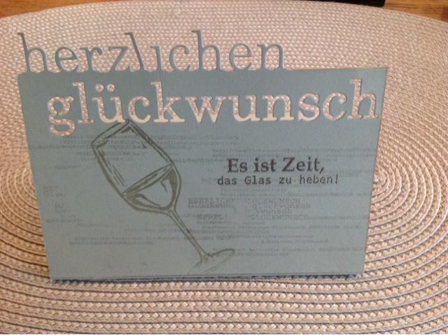 Stampin up Gutscheinkarte
