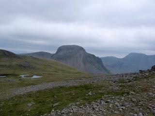 Great Gable from Kirk Fell.