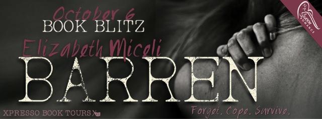 Book Blitz: Barren by Elizabeth Miceli