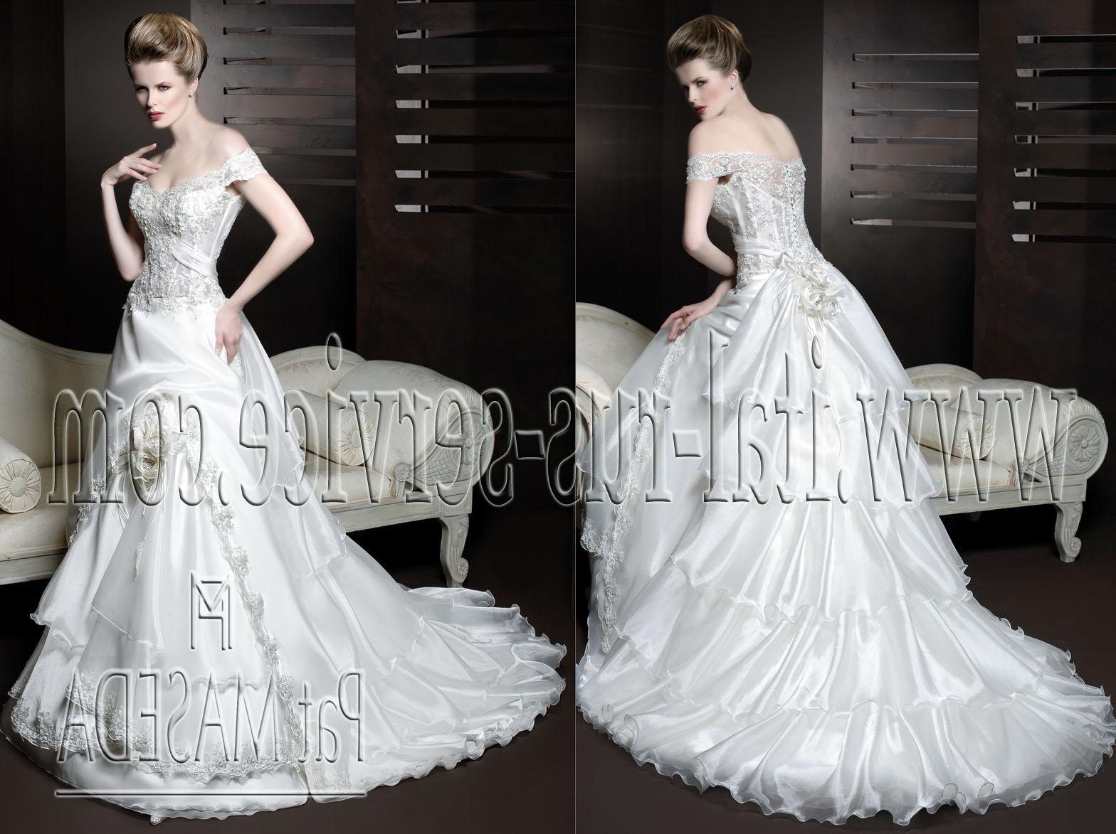 Wedding dress. Pat MASEDA 2011