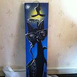 Customize artwork purchased from Trevor Scott a street artist in New Orleans