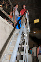 Attends Bernard, c'est MON escalier !!