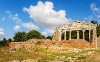 Ruins of ancient city of Appolonia