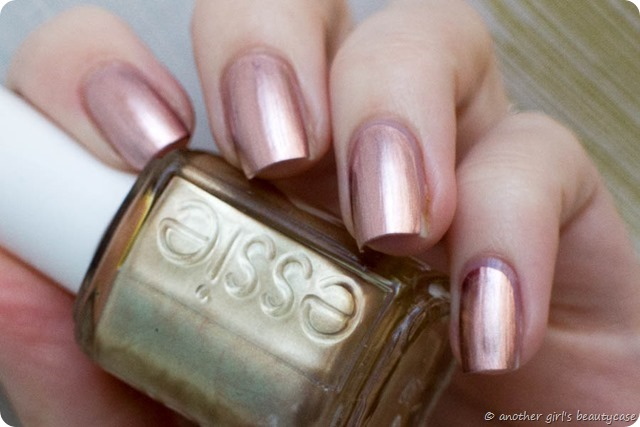 LFB Kupfer Copper Rose Gold Nails Penny Talk Essie Swatch-2