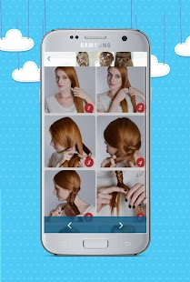 Hair Style By Step - screenshot