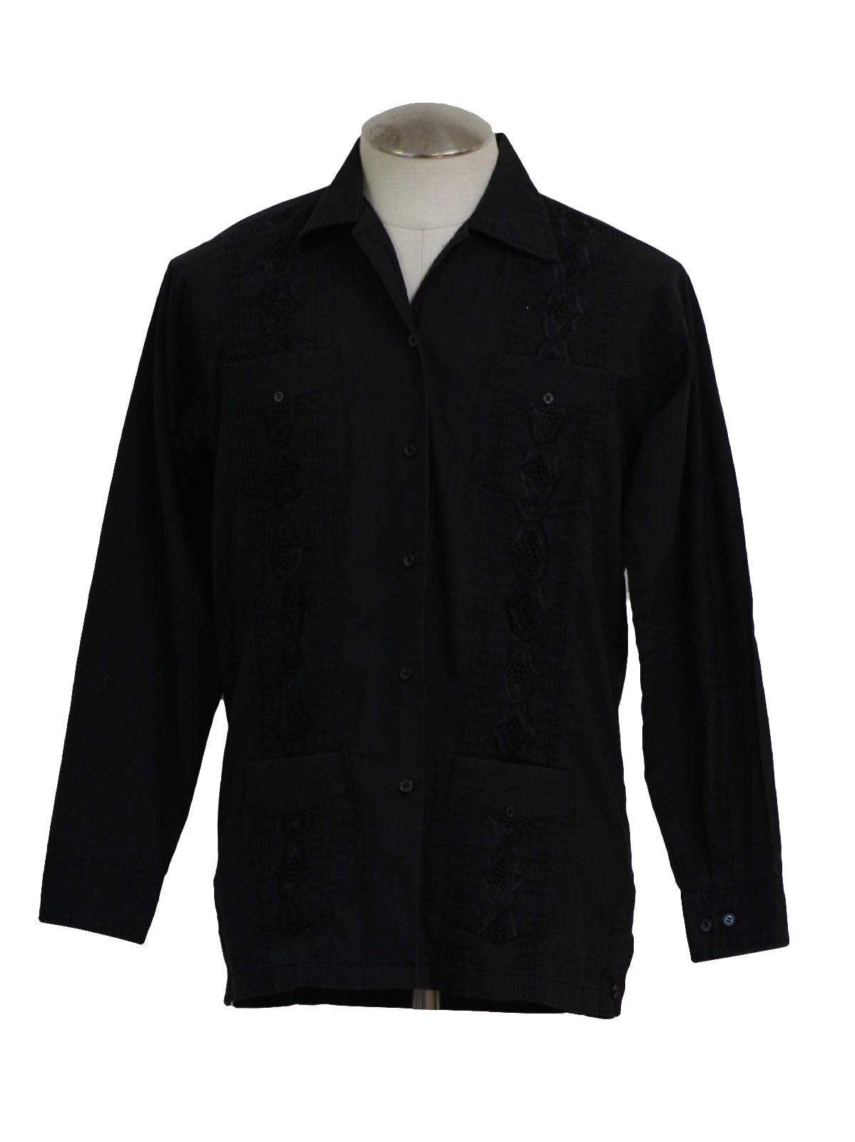 80s -Chic Elegant- Mens black