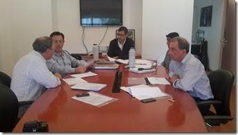 reunión con EDEA y Cooperativas