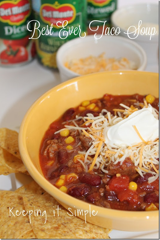 #ad best-ever-taco-soup-recipe #StockUponDelMonte
