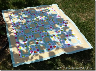 SquareDanceQuiltPattern-Going Dottie
