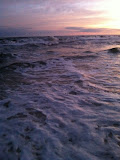 Sunset over the Gulf of Mexico in Destin FL 03232012h