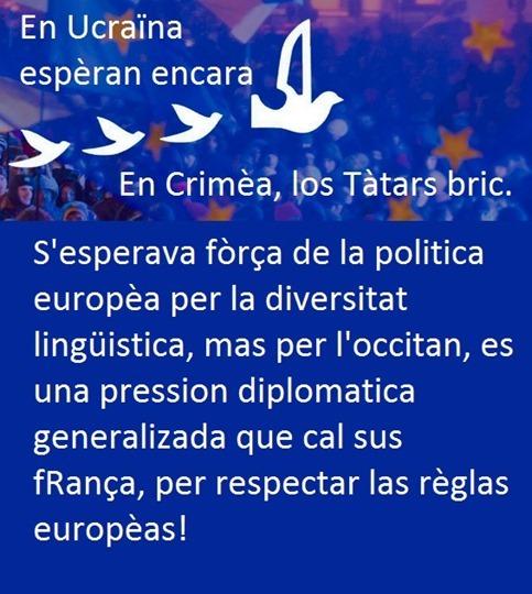 Union europèa lengas occitan esperança
