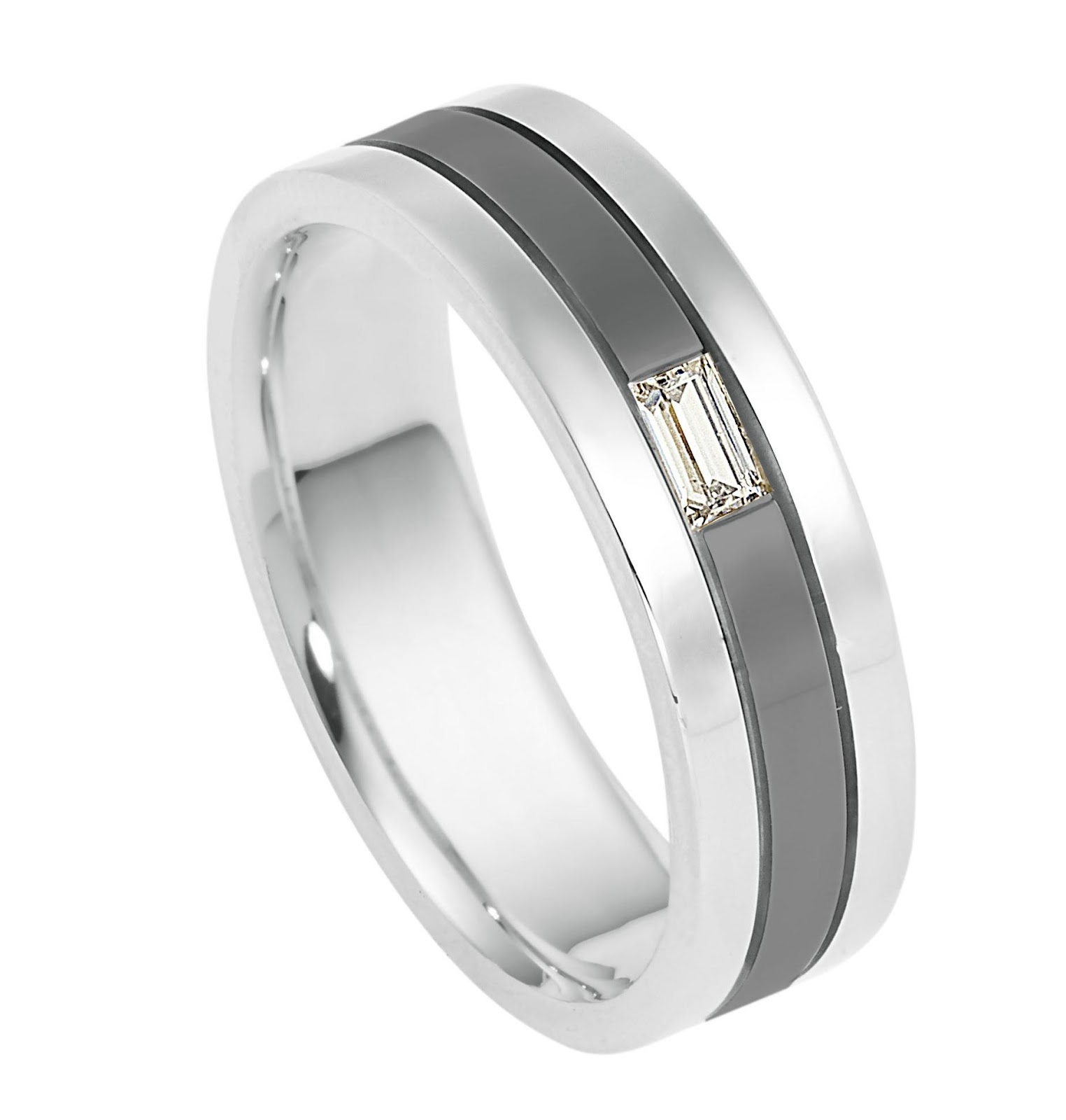Diamond Wedding Band available in your choice of metal and width    Diamond