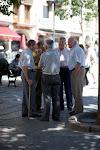 Men Gather in Spain