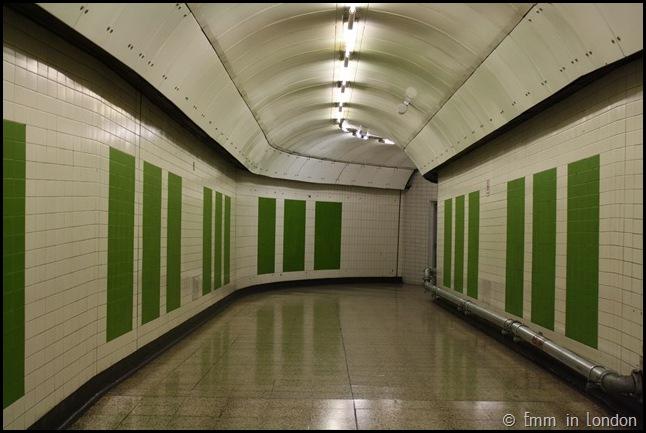 Disused Jubilee Line Corridor