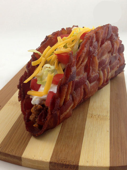 Bacon taco? Heck yea!