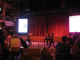 Line dancers in the Wildhorse Saloon in Nashville TN 09032011