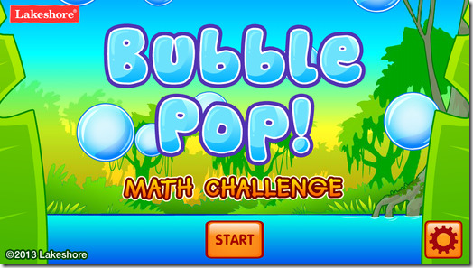 Bubble Pop Math Challenge