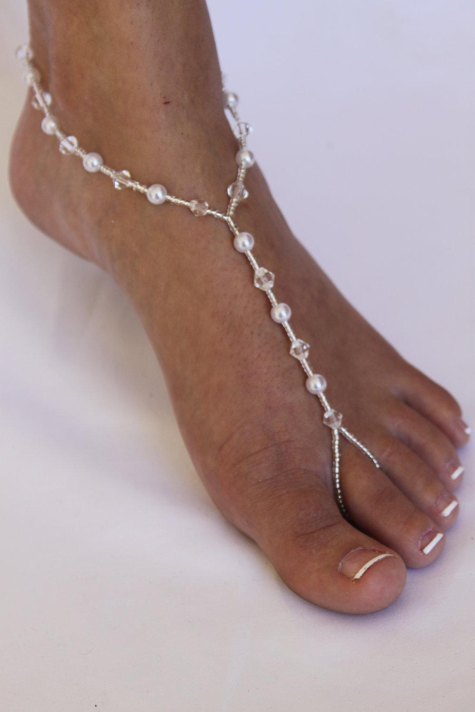Bridal Barefoot Sandals Beach